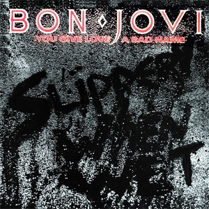 You Give Love A Bad Name - Bon Jovi - Drum Sheet Music
