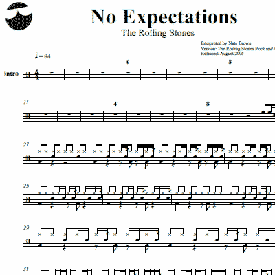 How to write a drum roll notation