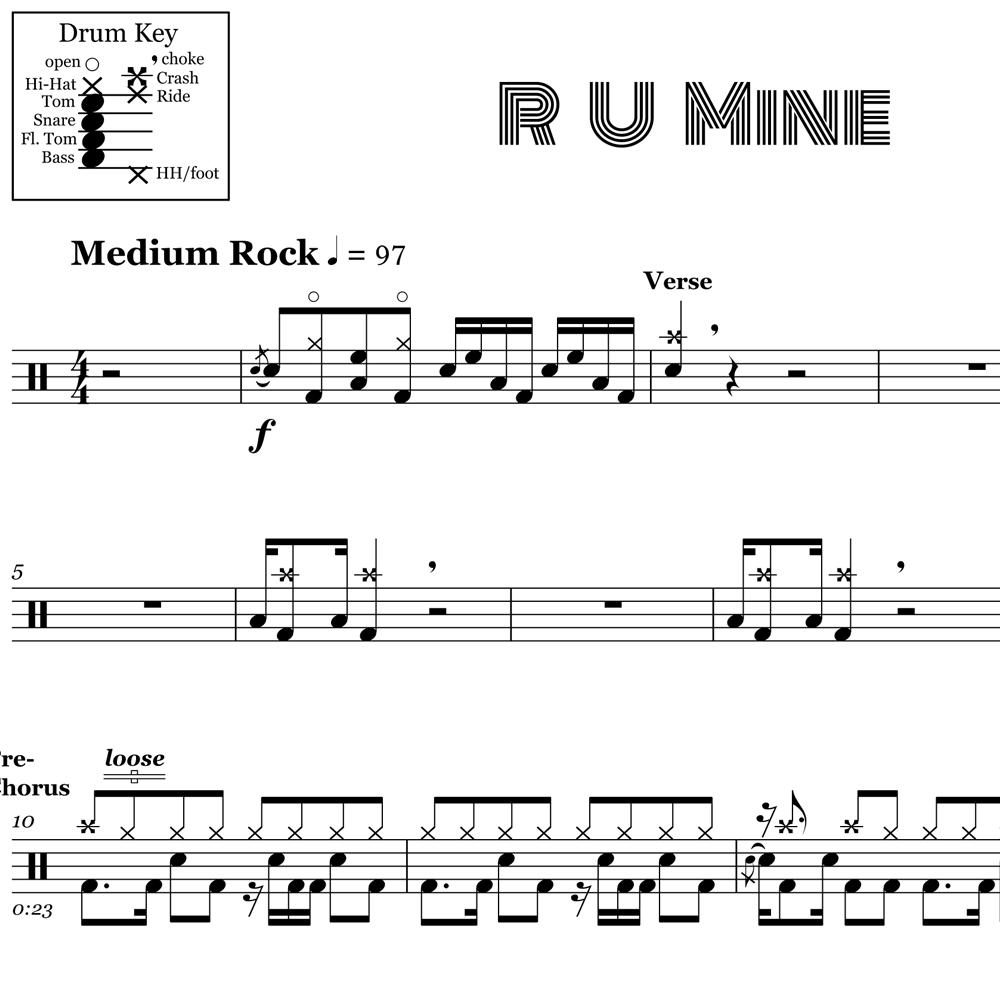 R U Mine Grooves - Arctic Monkeys