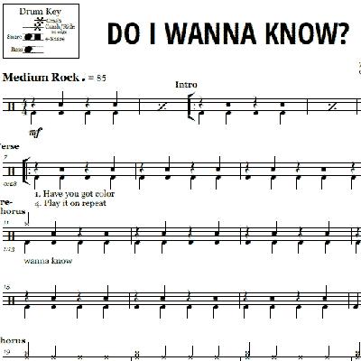 Arctic Monkeys Do I Wanna Know Chords Softwaremonsterfo