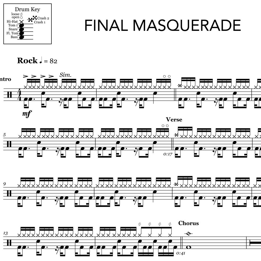 Final Masquerade - Linkin Park - Intro