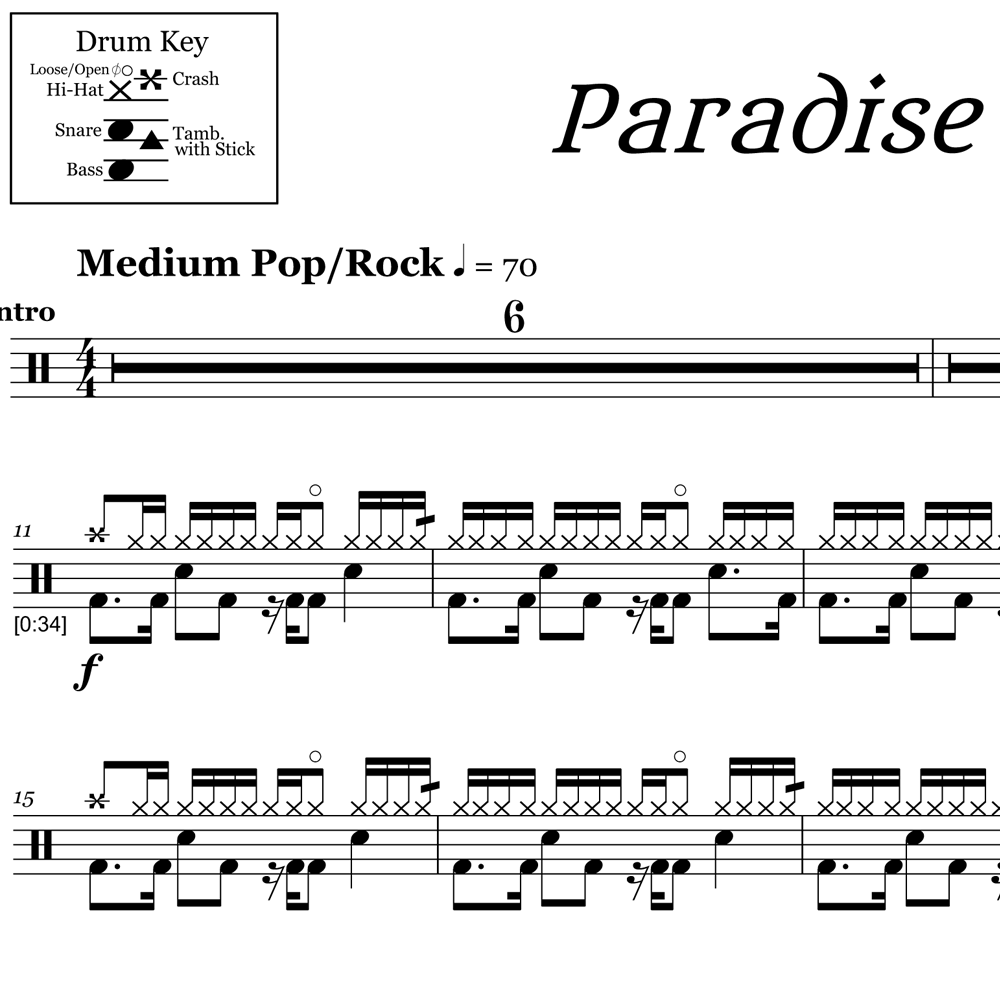How To Play Paradise - Coldplay