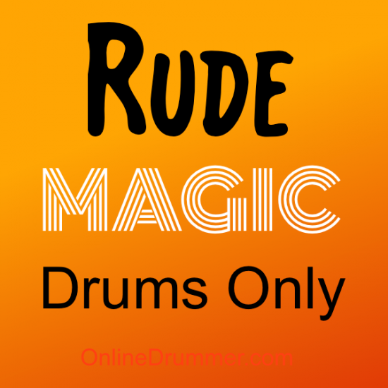 Rude_Magic_Drums-Only_Album-Cover