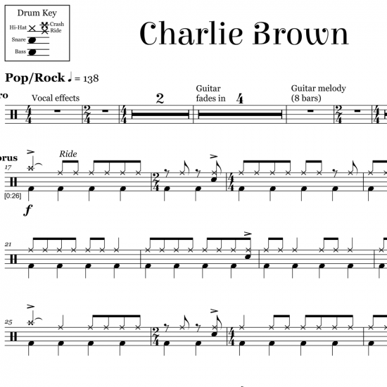Charlie Brown - Coldplay