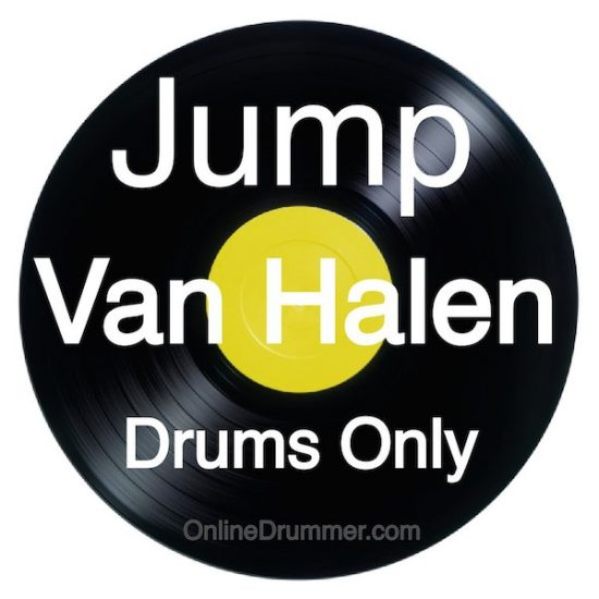 Jump - Van Halen - Drum Audio Pack