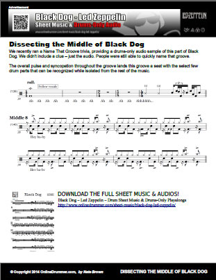Dissecting The Middle of Black Dog