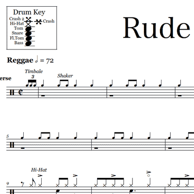 Sheet Music | Product categories | OnlineDrummer.com | Page 13