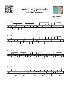 Paradiddle Latin Groove