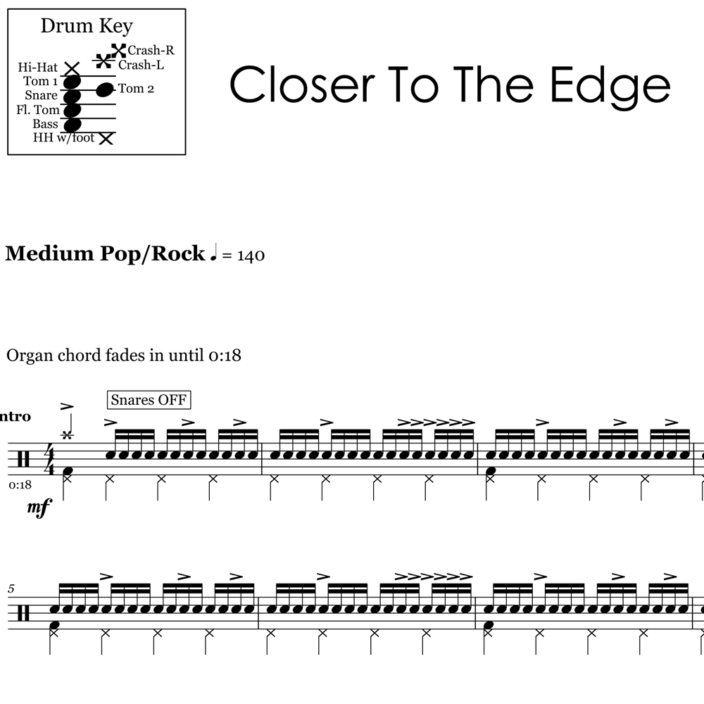 Closer to the Edge – 30 Seconds to Mars – Verse 2