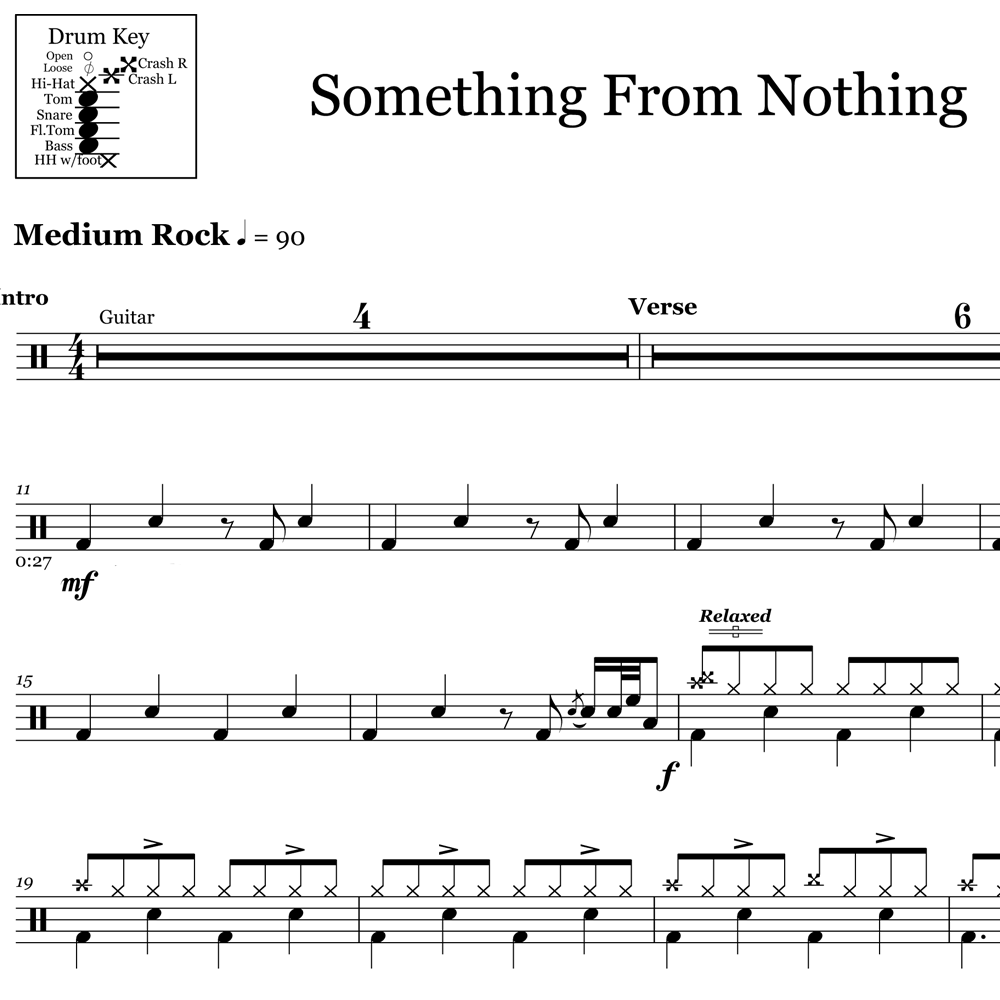 Classic Fills from Something From Nothing - Foo Fighters