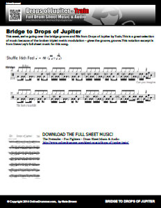 Bridge To Drops Of Jupiter (Excerpt)