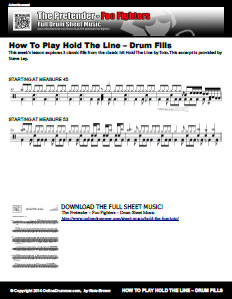 Hold The Line - Drum Fills Excerpt