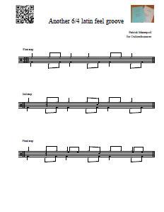 6/4 Latin Feel Beats - Lesson 3
