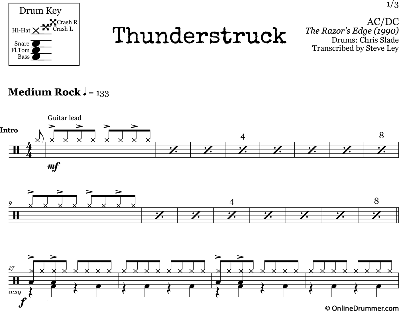 snare drum sheet music pdf