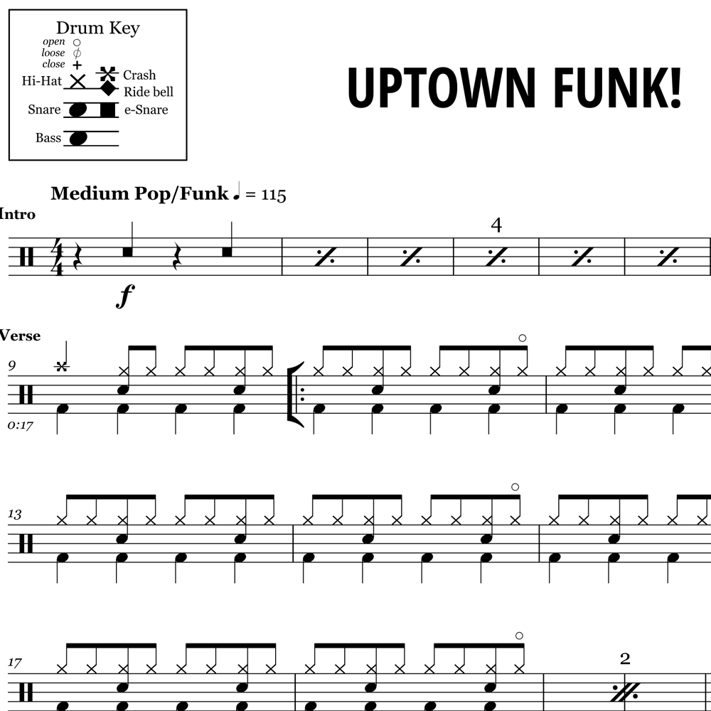 Uptown Funk - Bruno Mars & Mark Ronson