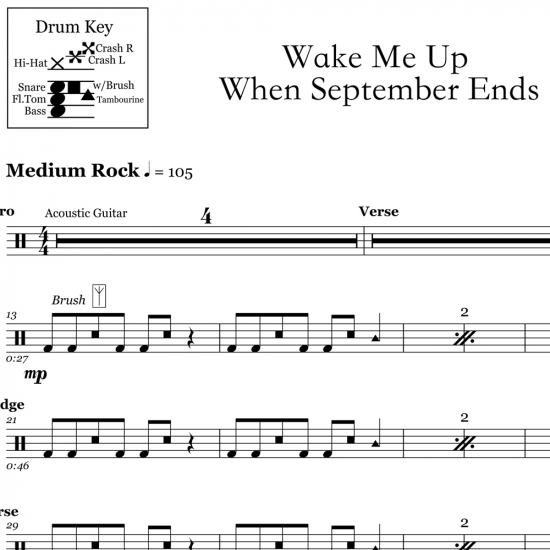 Wake Me Up When September Ends – Green Day