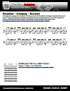Paradise - Coldplay - Excerpt