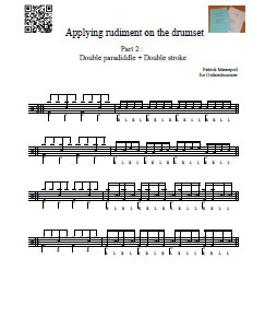 Applying Rudiments to the Drum Set - Part 2
