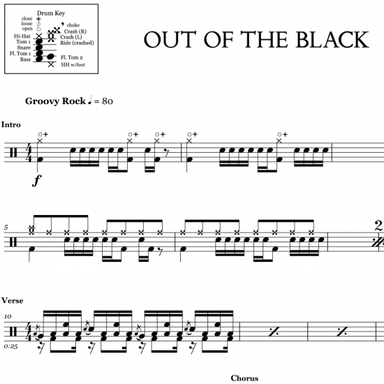 Out of the Black - Royal Blood
