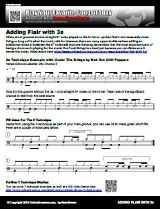 Adding Flair With Threes