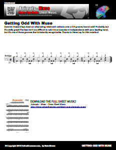 Animals Excerpt - Odd Time Groove