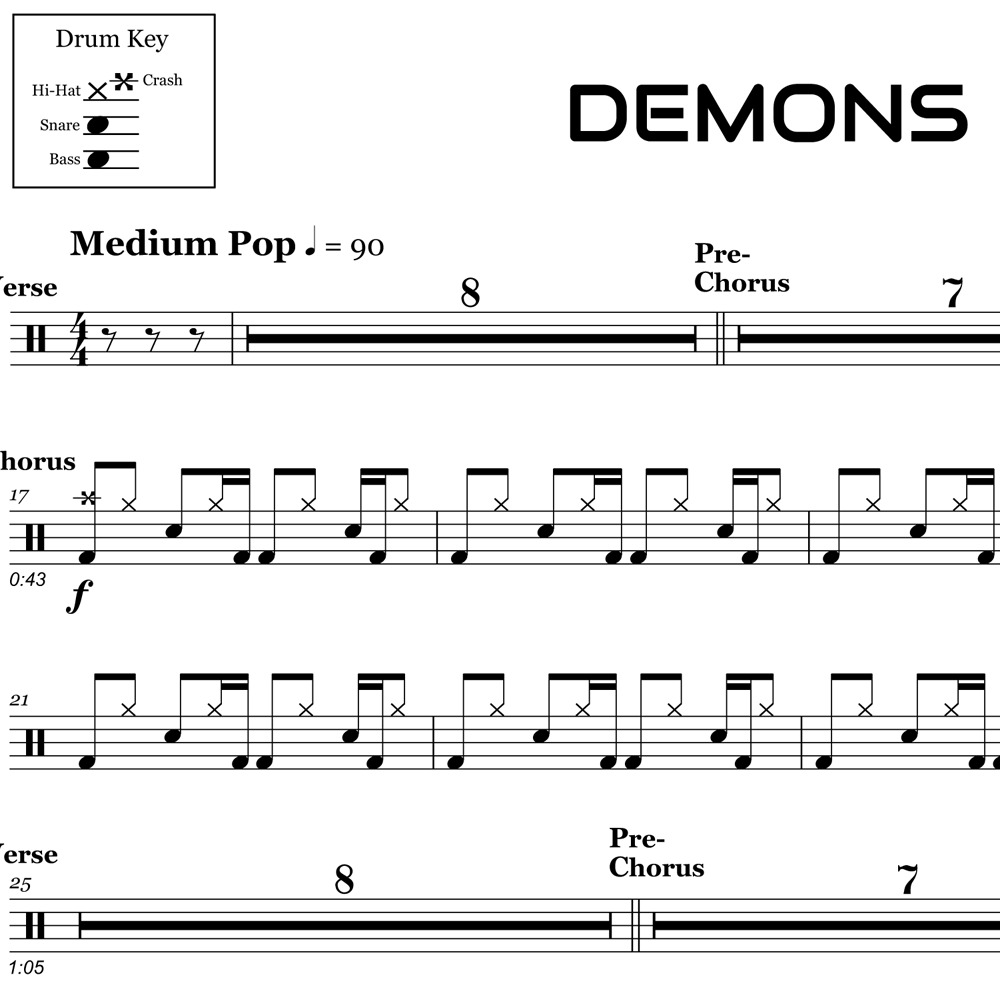 Drum Beat from Demons