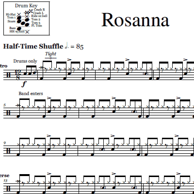 Drum drum tabs for radioactive : Sheet Music | Product Categories | OnlineDrummer.com | Page 6