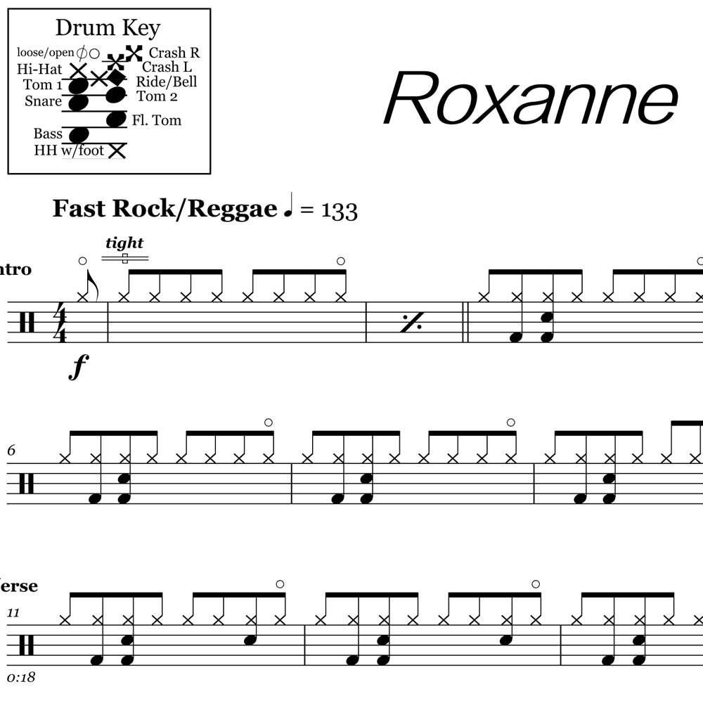 Roxanne – The Police – Verse