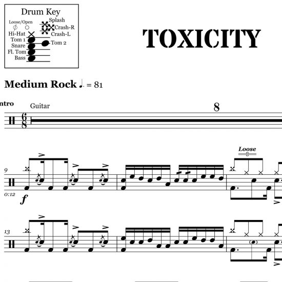 Toxicity – System of a Down