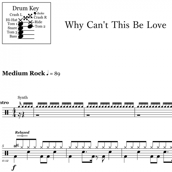 Why Can't This Be Love – Van Halen