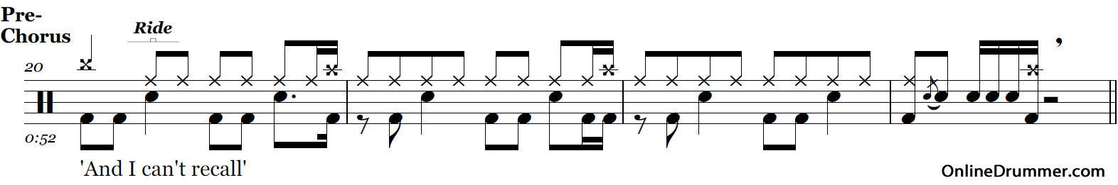 Why Can't This Be Love – Van Halen – Drum Sheet Music ...