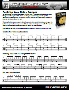 Expressive Ride Cymbal Techniques - PDF