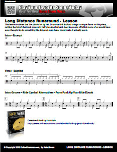 Grooves From Long Distance Runaround
