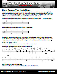 Here Comes The Half-Time - PDF