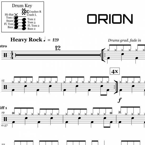 Orion - Metallica