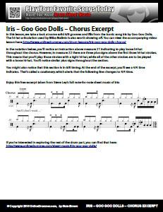 Iris - Chorus Excerpt