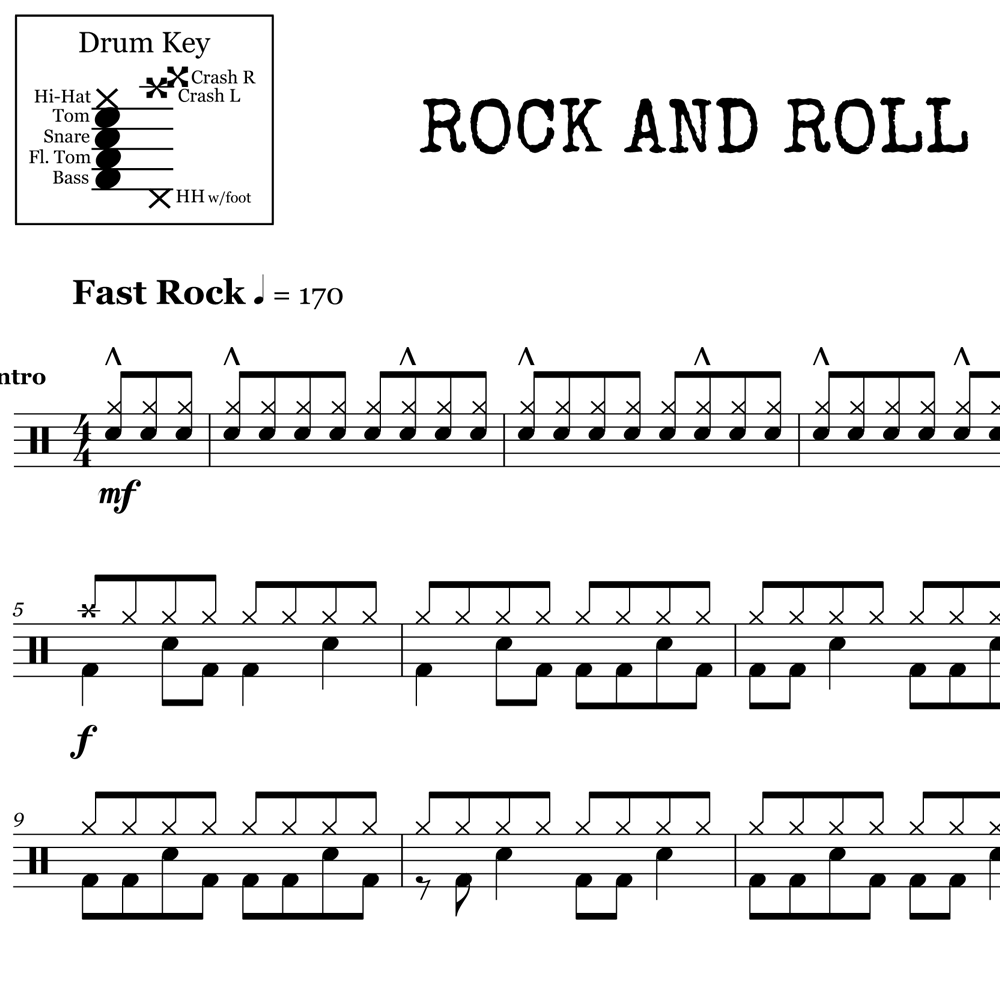 Rock and Roll - Led Zeppelin - Intro