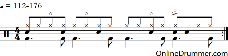 Cool Drum Beat On The Snare – PDF | OnlineDrummer.com