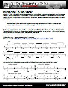 Displacing The Backbeat