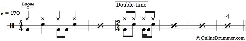 Double-time Beat