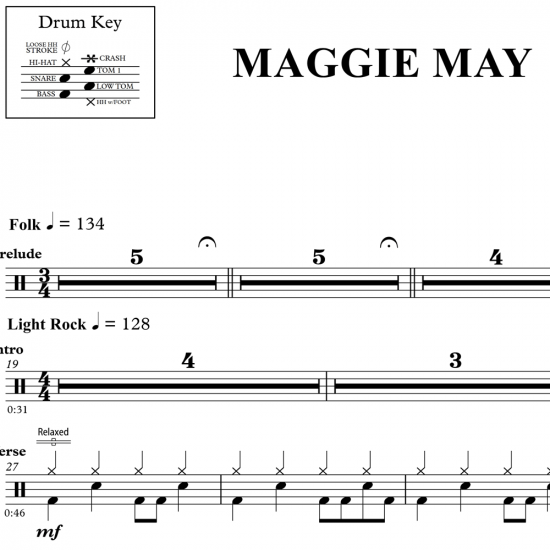 Maggie May – Rod Stewart