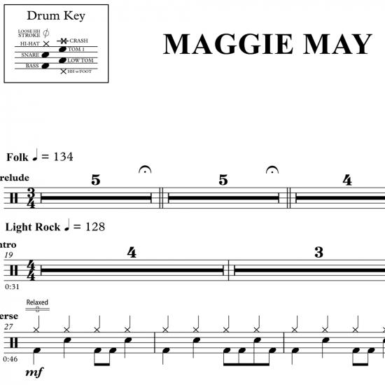 Maggie May – Rod Stewart