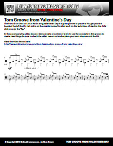 Valentine's Day Tom Groove