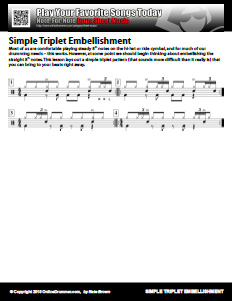 Simple Triplet Embellishments - PDF