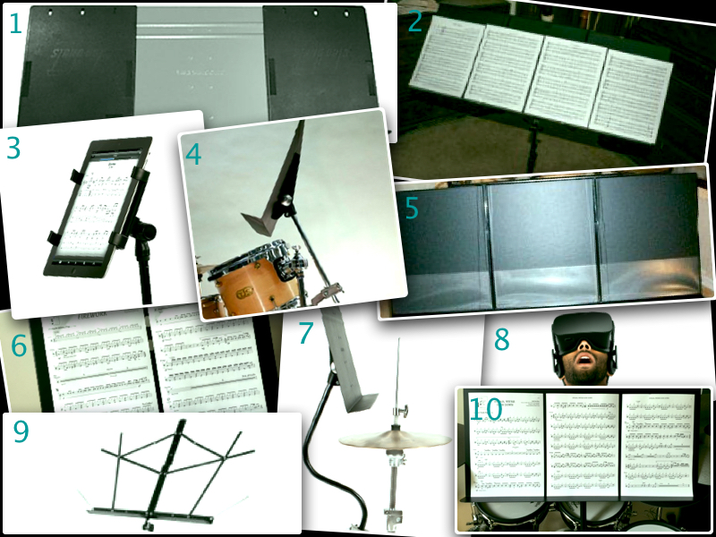 How Do You Stand It? - Music Stands for Drummers