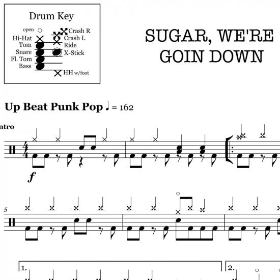 Sugar, We're Goin' Down – Fall Out Boy
