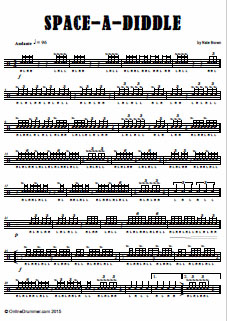 Space-A-Diddle – Snare Drum Solo