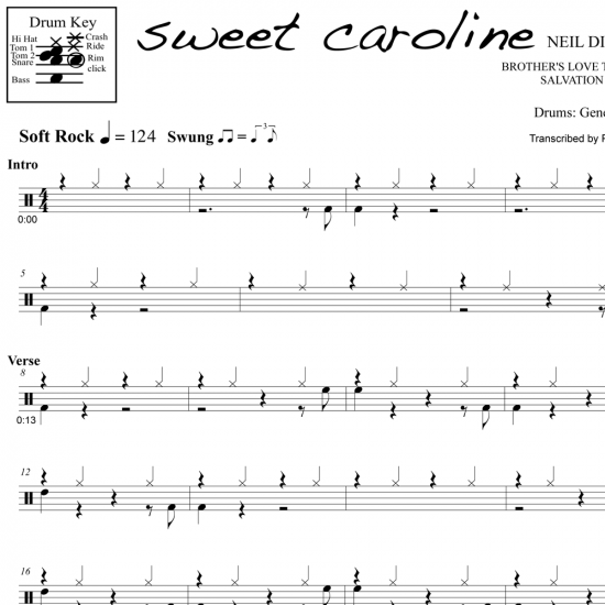 Sweet Caroline – Neil Diamond