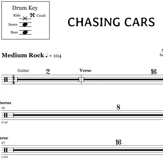 Chasing Cars – Snow Patrol