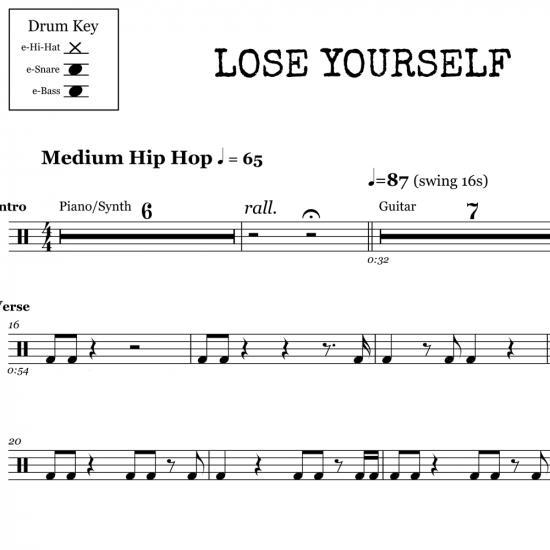 Lose Yourself – Eminem
